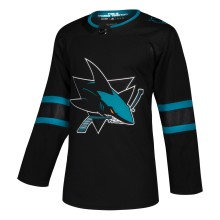 San Jose Sharks adidas adizero NHL Authentic Pro Alternate Jersey