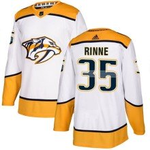 Pekka Rinne Nashville Predators adidas NHL Authentic Pro Road Jersey - Pro Stitched