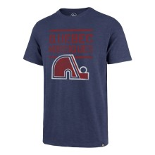 Quebec Nordiques NHL '47 Letterpress Scrum T-Shirt