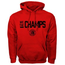 Toronto Raptors NBA Bulletin We The Champs Hoodie - Red