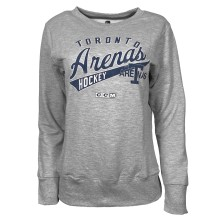 Toronto Arenas CCM Women's Lightweight French Terry Fleece Crew