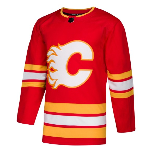 Calgary Flames adidas adizero NHL Authentic 2020-21 Pro Home Jersey