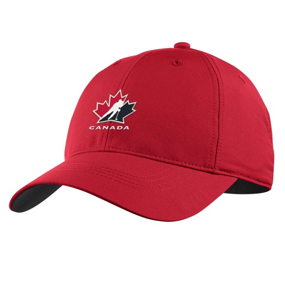 Team Canada IIHF Legacy91 Golf Cap - Red | Adjustable