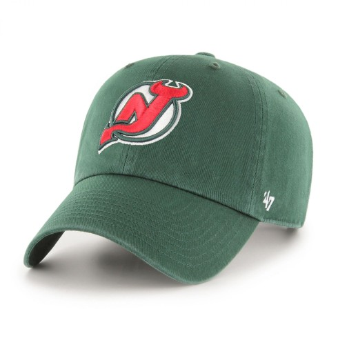 New Jersey Devils Vintage NHL `47 Clean Up Cap - Green | Adjustable