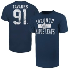 Toronto Maple Leafs John Tavares '47 NHL Player Distressed T-Shirt