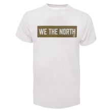 Toronto Raptors NBA Bulletin We The North Bar T-Shirt - White