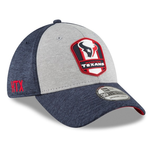 Houston Texans New Era 2018 NFL On Field Road 39THIRTY Cap