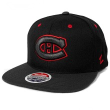 Montreal Canadiens Zephyr Blackout Cap - Black | Adjustable