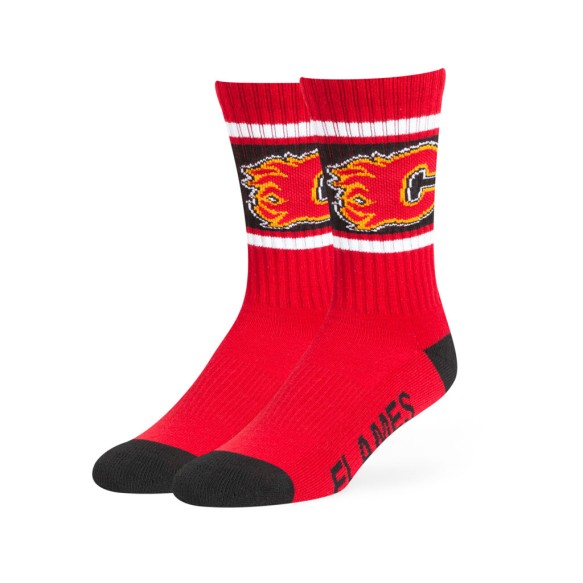 Calgary Flames NHL '47 Duster Crew Socks