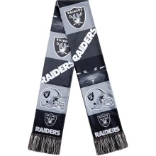 Oakland Raiders NFL Sublimated Printed Logo Scarf