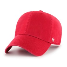 '47 Brand Clean Up Blank Dad Hat - Red | Adjustable