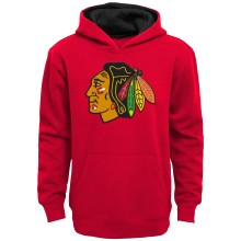 Chicago Blackhawks NHL Youth Prime Pullover Hoodie