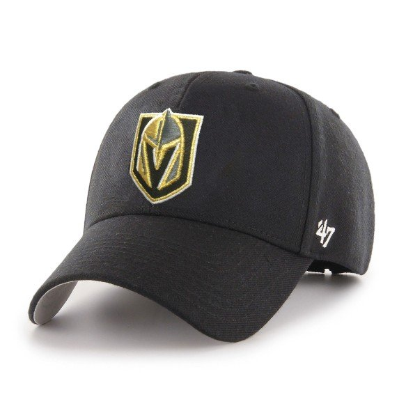 Vegas Golden Knights NHL '47 MVP Primary Cap - Black | Adjustable