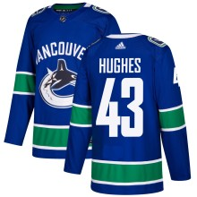 Quinn Hughes Vancouver Canucks adidas NHL Authentic Pro Home Jersey - Pro Stitched