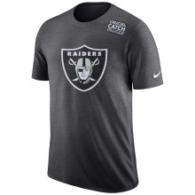 Oakland Raiders NFL Nike DRI-FIT Crucial Catch T-Shirt