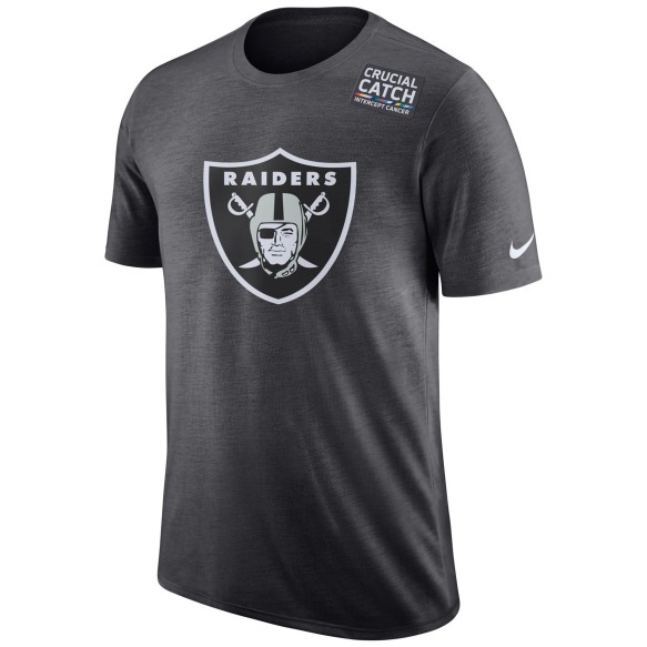 Las Vegas Raiders NFL Nike DRI-FIT Crucial Catch T-Shirt