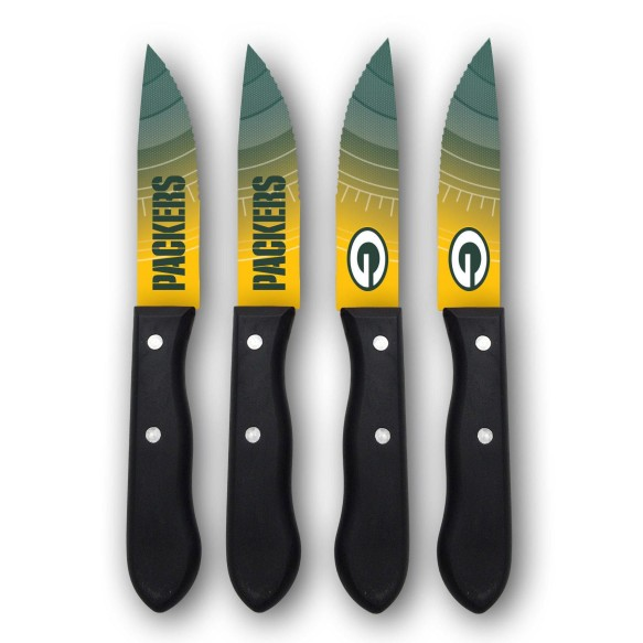 Green Bay Packers Steak Knives (4-Piece Set)