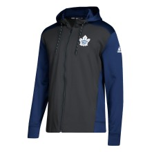 Toronto Maple Leafs adidas NHL Authentic Full Zip Hoodie