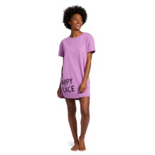 Life is Good Women's Bed is My Happy Place Sleep Tee Dress
