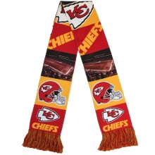 Kansas City Chiefs NFL Sublimated Printed Logo Scarf