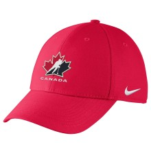 Team Canada IIHF Classic99 Structured Swooshflex DRI-FIT Cap - Red | Adjustable