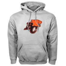 BC Lions CFL Twill Logo Hoody (Gray)