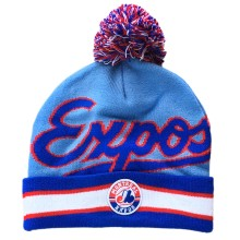 Montreal Expos Cooperstown Script Cuff Knit Hat