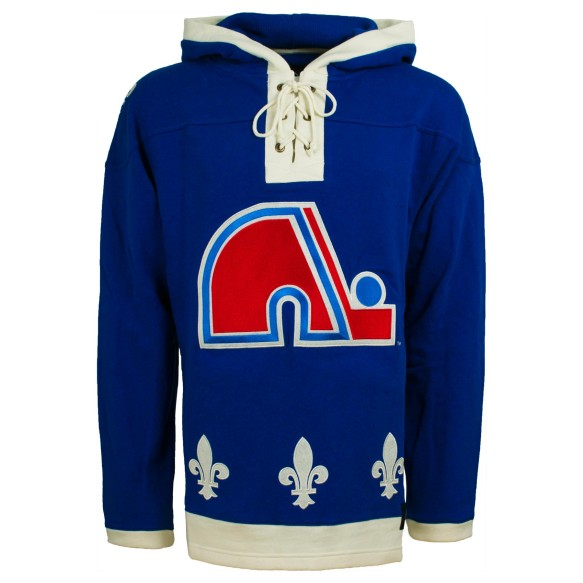 Quebec Nordiques NHL '47 Heavyweight Jersey Lacer Hoodie