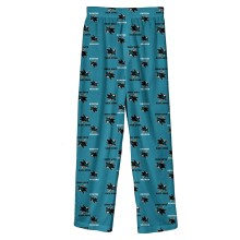 San Jose Sharks NHL Youth Flannel Sleeper Pants