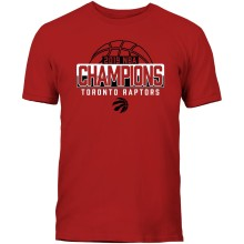 Toronto Raptors NBA Bulletin 2019 Global Champions T-Shirt - Red
