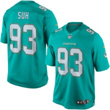 Miami Dolphins Ndamukong Suh NFL Nike Limited Team Jersey