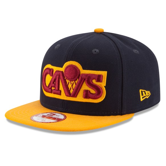 Cleveland Cavaliers New Era 9FIFTY NBA 2-Tone Basic Snapback Cap | Adjustable