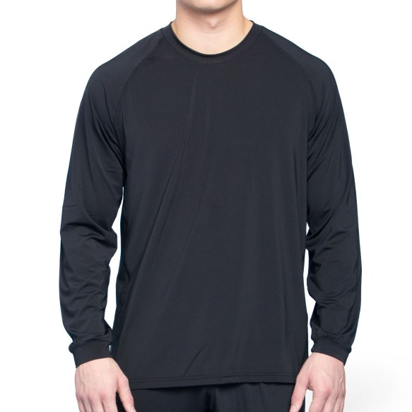Bulletin Pro Sports Performance Base Layer Loose Fit Long Sleeve T-Shirt - Black