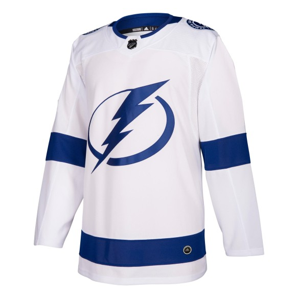Tampa Bay Lightning adidas adizero NHL Authentic Pro Road Jersey