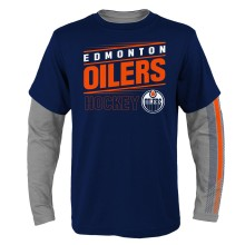 Edmonton Oilers NHL YOUTH 2 in 1 Combo Pack Long Sleeve T-Shirt