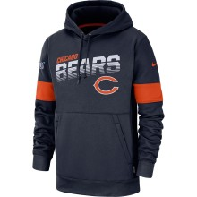Chicago Bears NFL Nike 2019 On Field 100th Therma Hoodie