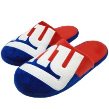New York Giants NFL Men's Big Logo Slipper 2.0