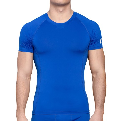 Bulletin Pro Sports Performance Base Layer Compression Short Sleeve T-Shirt - Royal