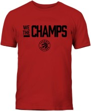 Toronto Raptors NBA Bulletin 2019 We The Champs T-Shirt (Red)
