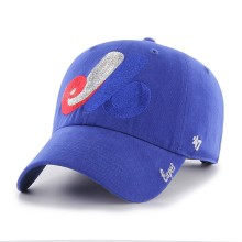 Montreal Expos MLB Women's Sparkle Cap | Adjustable