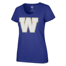 Winnipeg Blue Bombers CFL '47 Women's Halo Club Scoop Neck T-Shirt