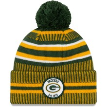 Green Bay Packers 2019 NFL Official Sideline Home Cold Weather Sport Knit Hat
