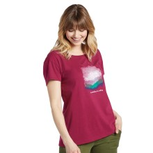 Life is Good Women's Mountains Are Calling Breezy Tee