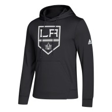 Los Angeles Kings adidas NHL 2.0 Twill Logo Hoodie