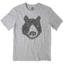 Life is Good Men's Outdoor Bear Smooth Tee