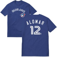 Toronto Blue Jays Roberto Alomar Cooperstown Player Name & Number T-Shirt (Royal)