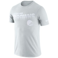Cleveland Browns NFL Nike Pale Gray NFL 100 2019 Sideline Platinum Performance T-Shirt