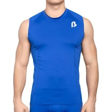 Bulletin Pro Sports Performance Base Layer Compression Sleeveless T-Shirt - Royal