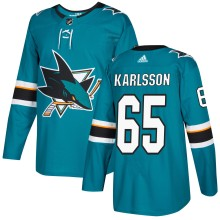 Erik Karlsson San Jose Sharks adidas NHL Authentic Pro Home Jersey - Pro Stitched
