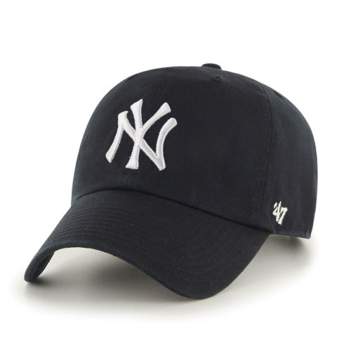 New York Yankees MLB '47 Clean Up Cap - Black | Adjustable